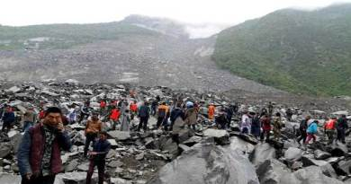 Over 141 feared buried in China landslide