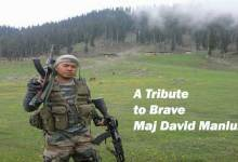 A Tribute to Brave Maj David Manlun