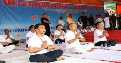 Yoga helps to maintain energy, strength, and relieve stress- Pema Khandu
