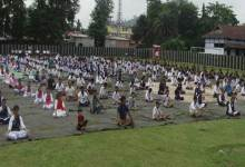 Photo of Security Forces Observed World Yoga Day