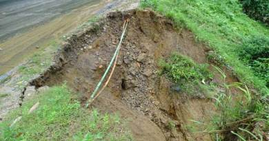 Heavy downpour and landslide created havoc in state