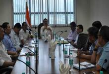 Chowna Mein Convened Joint Meeting to Discuss shifting and functioning of Divisional Commissioners