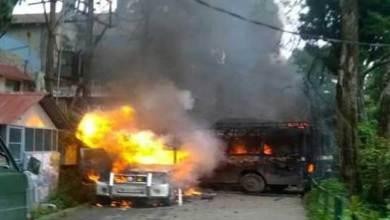 Photo of Darjeeling- GJM Protest turns Violent, 12 Hrs bandh, Army deployed