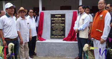 Taram announces 1.36 lakhs for new academic block of Kokila Secondary School