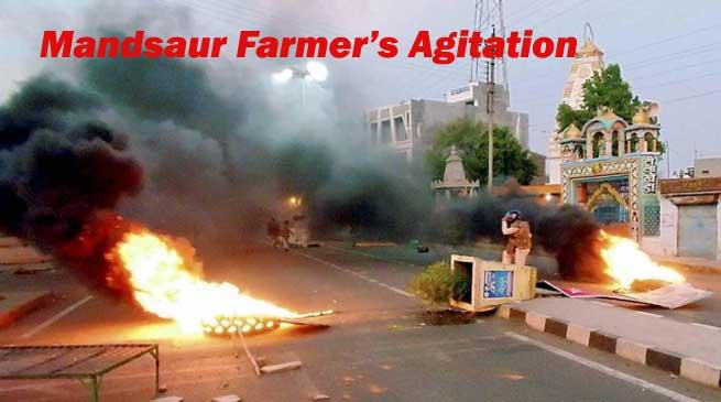 Mandsaur Farmer's Agitation entered Maharashtra