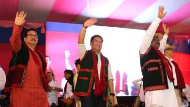 """Pasighat celebrates """"Sabka Saath Sabka Vikas"""""""