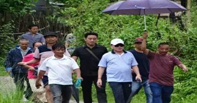 Rebia Visits Kasingsa, discussed grievance with  local people
