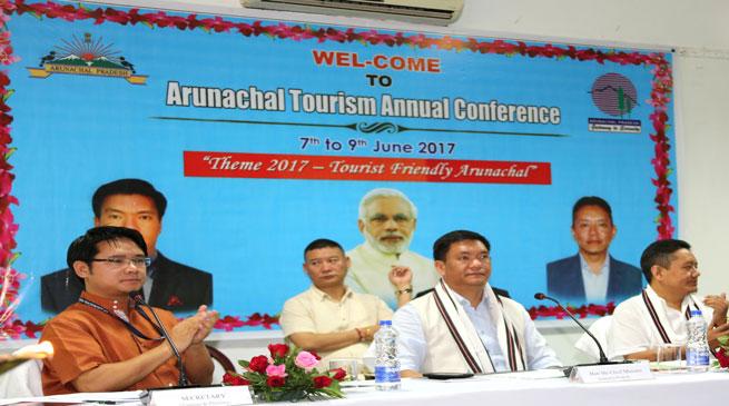 Conference on 'Tourist friendly Arunachal Pradesh' open