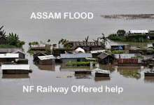 Photo of NF Railway Offered help for flood affected areas, running special trains