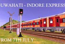 Photo of Prabhu will Flag off  Guwahati-Indore Express tomorrow