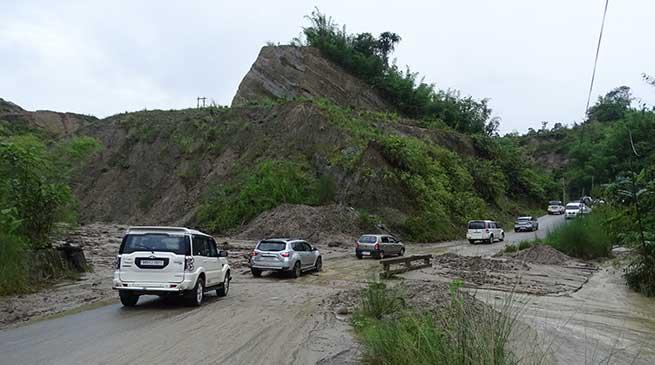 Papu Nallah-Itanagar via Jullang Road need immediate attention of authorities