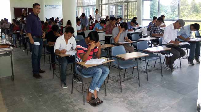 week long Rajiv Gandhi University Common Entrance Test-2017 begins
