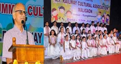 NF Railway organised Summer Cultural Workshop 2017