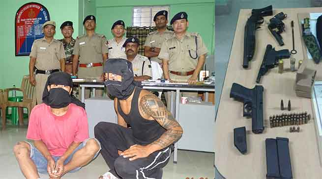 Naharlagun Firing incident- 2 Accuse arrested with Arms