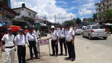 Photo of Itanagar- No Parking Zone at Bank Tinali