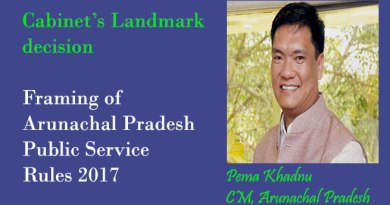 Khandu's cabinet  took several Landmark decisions
