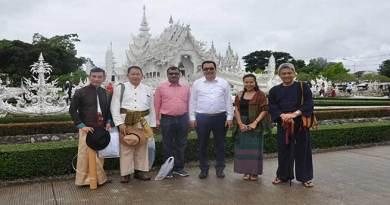 Chowna Mein visits world famous 101 Tea Plantations at Doi Maesalong
