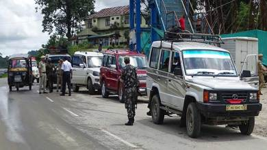Photo of Itanagar police warned stern action against defaulters of number plates in vehicle