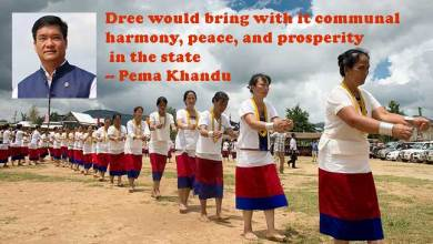 Photo of Pema Khandu extends his greetings on the eve of Dree festival