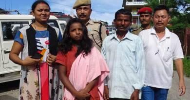 Assam Police rescue minor girl from Itanagar