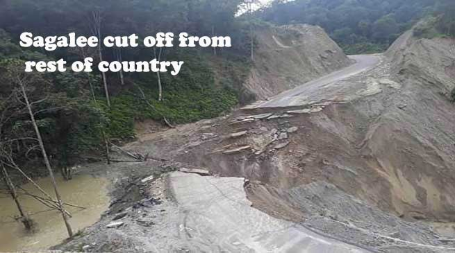 Arunachal- Sagalee Subdivision cut off from rest of the country