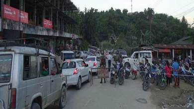 Photo of One way traffic a harassment of common public of capital complex