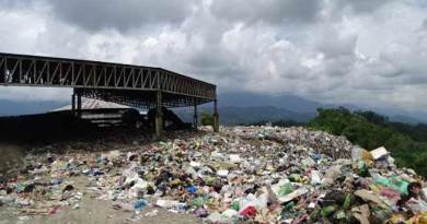 Solid Waste Management plant at Chimpu stop functioning