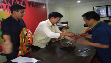 Photo of APYC president Jikke Tako Joins BJP
