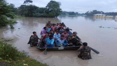Photo of Army Rescues Flood affected people in lower Assam