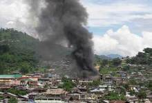 Photo of Major fire in Daporijo's Market burns down several shops and houses