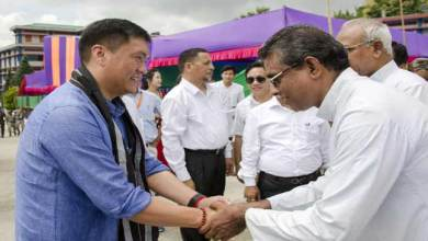 Photo of Khandu lauded Christian missionaries for major role in education sector