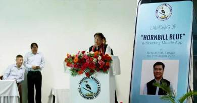 Khandu launches Hornbill Blue,  e-ticketing Mbl App