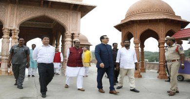 CM Pema Khandu visits Ramoji Film City, expresses willingness to work together to help film enthusiasts of state
