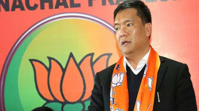 Agartala- Arunachal CM Pema Khandu to address Janajati Morcha rally