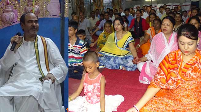 Discourse and meditation on bihangam yoga concludes
