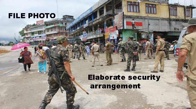 Elaborate security arrangement made to tackle Bandh-DGP