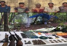 Photo of Army busted HNLC camp and recovered Arms and Ammunition in Karbianglong