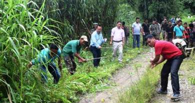 """Swachhata Hi Seva"" held at Huakan, a remote village of Arunachal"