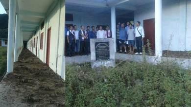 Photo of Vivekananda Kendra Vidalaya at Nyapin in worst condition