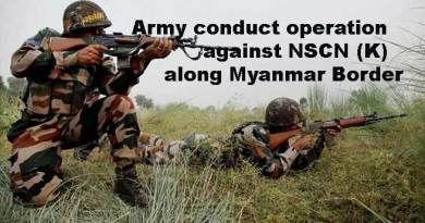 Army conduct operation against NSCN (K) along Myanmar Border