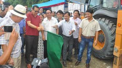 Photo of GOOD NEWS-  Chowna Mein flag off  4-Lanning of NH-415 from Chandranagar to Papu Nallah