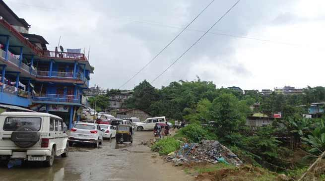 Itanagar- Traffic Jam on NH-415 is now regular phenomena