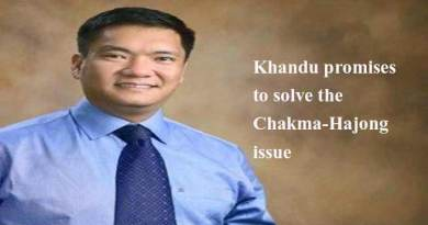 Khandu promises to solve the Chakma-Hajong issue