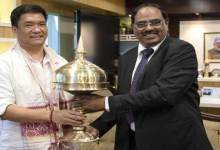 CM Khandu requests SBI to open its Branches in 44 unbanked blocks