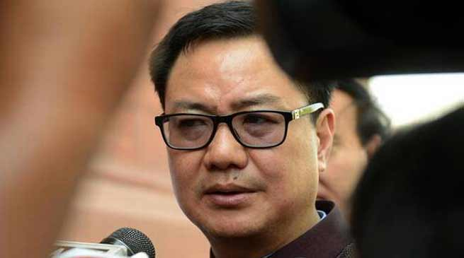 Arunachal: There was a misconception among the people regardingPRC- Kiren Rijiju
