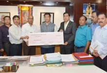NEEPCO Contributes 50 Lakhs to CM's Relief Fund