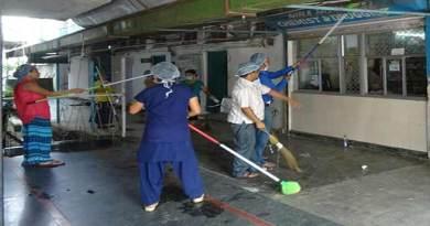 Niba Hospital organises 'Swachhata Hi Seva' campaign