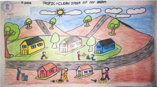 Arunachal's Monmaya Sonar Praised by PM Modi for their Artwork on Swachh Bharat