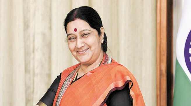 Sushma Swaraj grants medical visa to Pakistani girl for open heart surgery