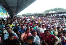Photo of ABSU stages Rail Roko Andolan in support of Bodoland